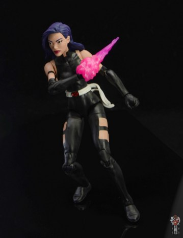 marvel legends nimrod, fantomex and psylocke figure review - psylocke drawing psionic blade