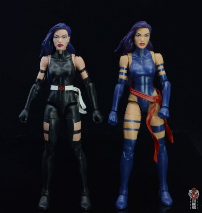 marvel legends nimrod, fantomex and psylocke figure review - with first psylocke