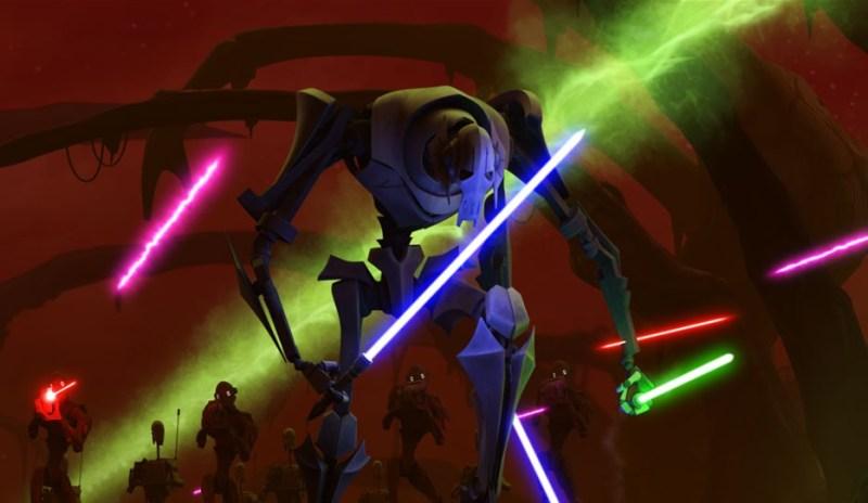 star wars clone wars season 4 - general grievious massacre