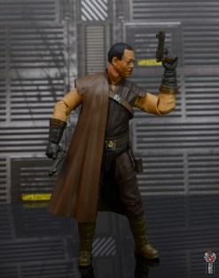 star wars the black series greef karga figure review - raising blaster