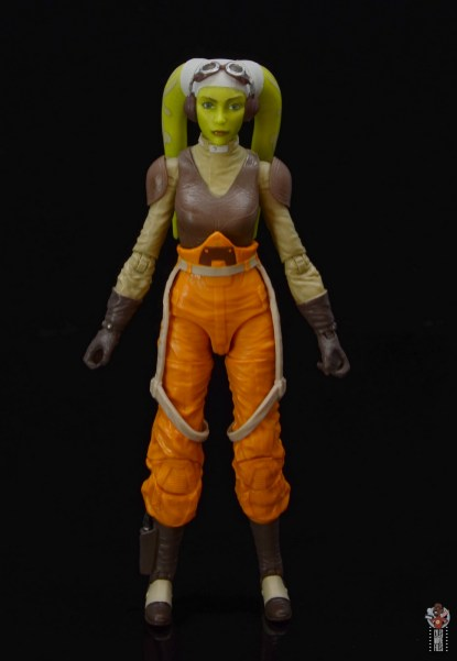 star wars the black series hera syndulla figure review - front