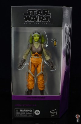 star wars the black series hera syndulla figure review - package front