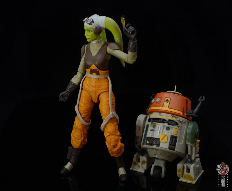 star wars the black series hera syndulla figure review - ready for battle with chopper