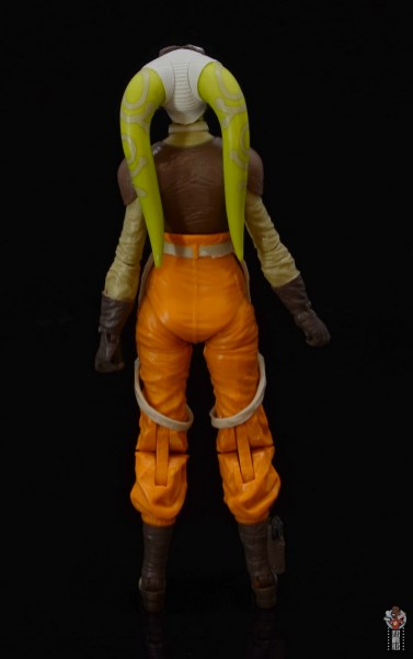 star wars the black series hera syndulla figure review - rear