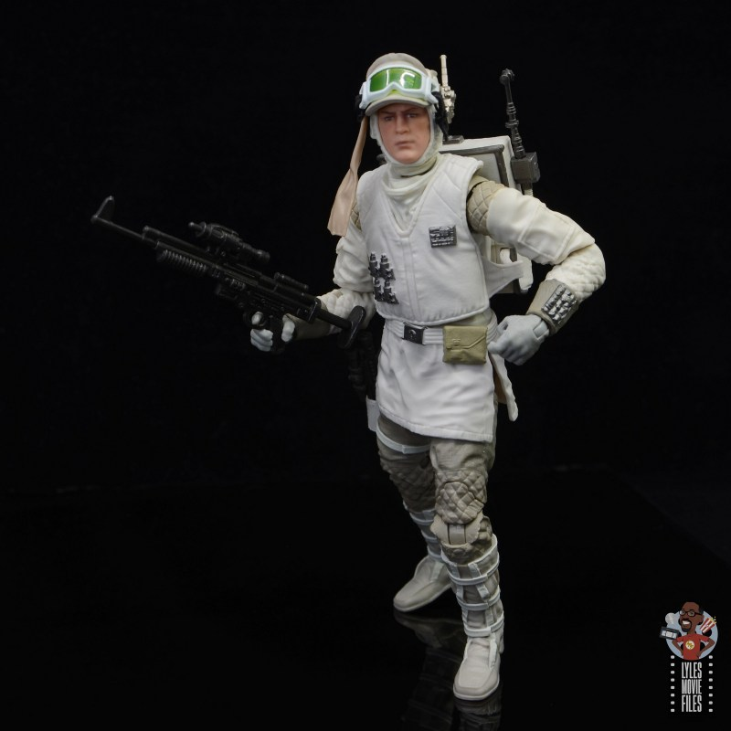 star wars the black series hoth trooper figure review - advancing