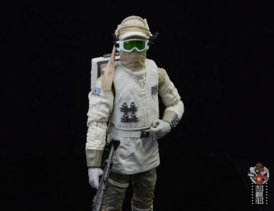 star wars the black series hoth trooper figure review - goggles down, scarf up