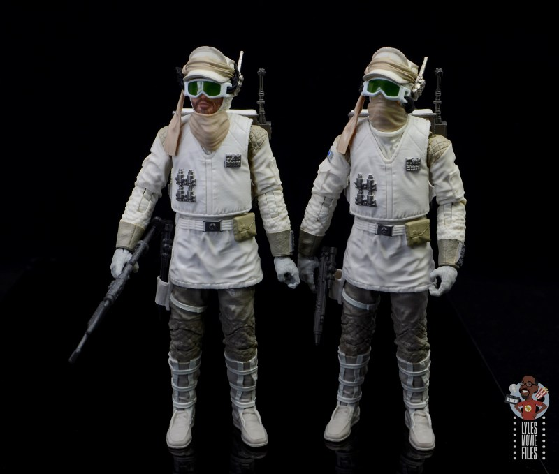 star wars the black series hoth trooper figure review - hoth troopers standing together