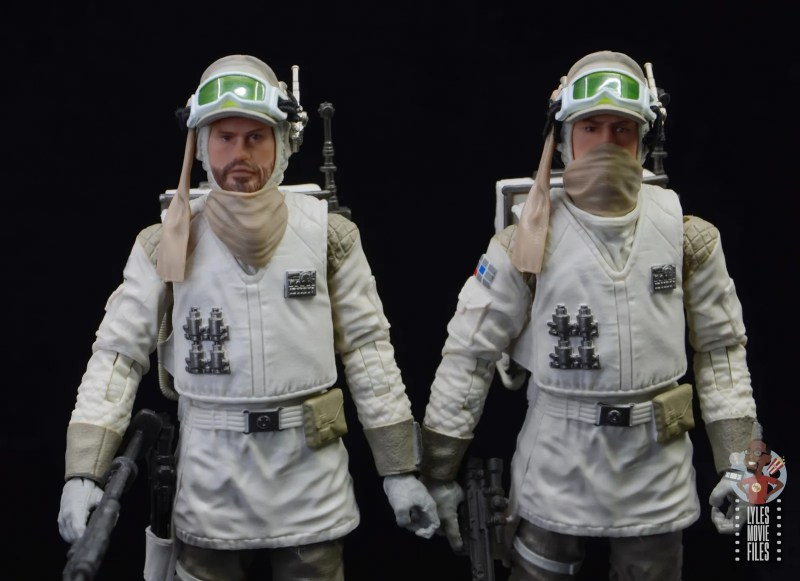 star wars the black series hoth trooper figure review - main shot of hoth soldiers