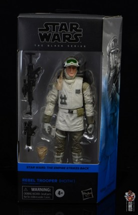 star wars the black series hoth trooper figure review - package front