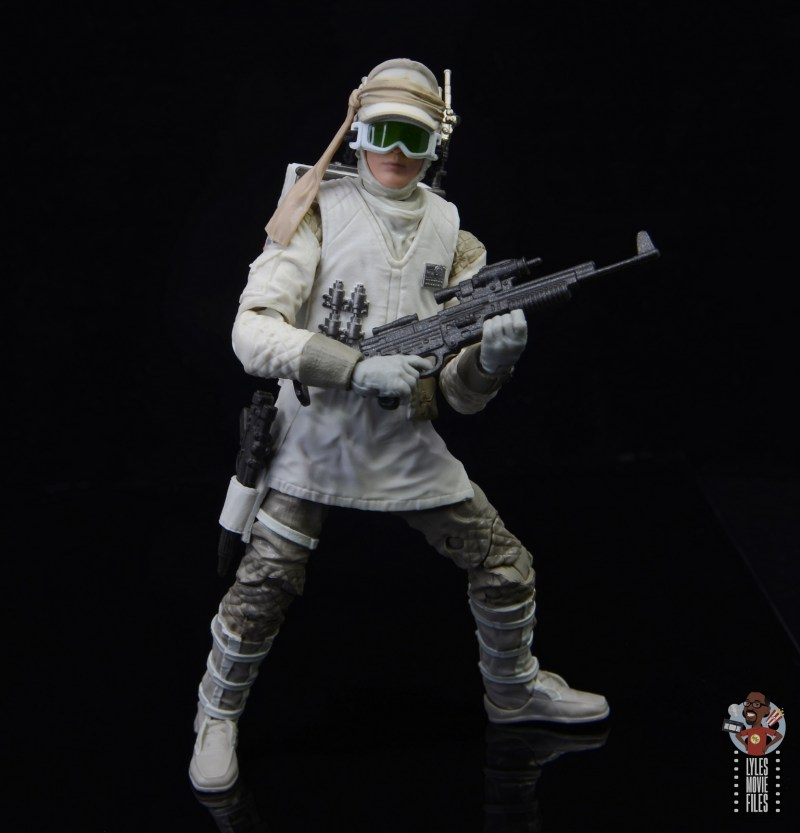 star wars the black series hoth trooper figure review - with larger blaster