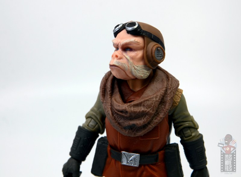 star wars the black series kuill figure review - looking up