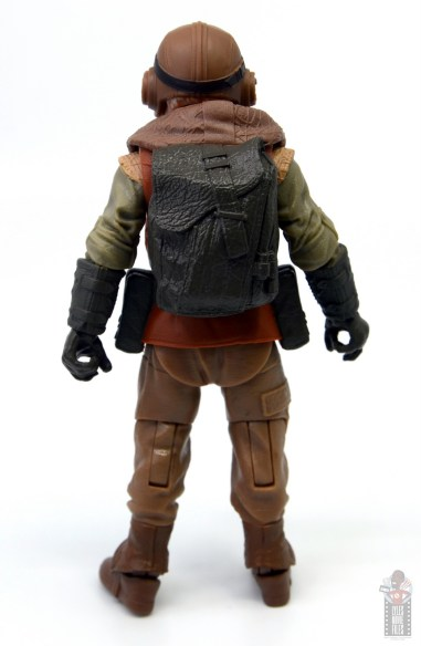 star wars the black series kuill figure review - rear