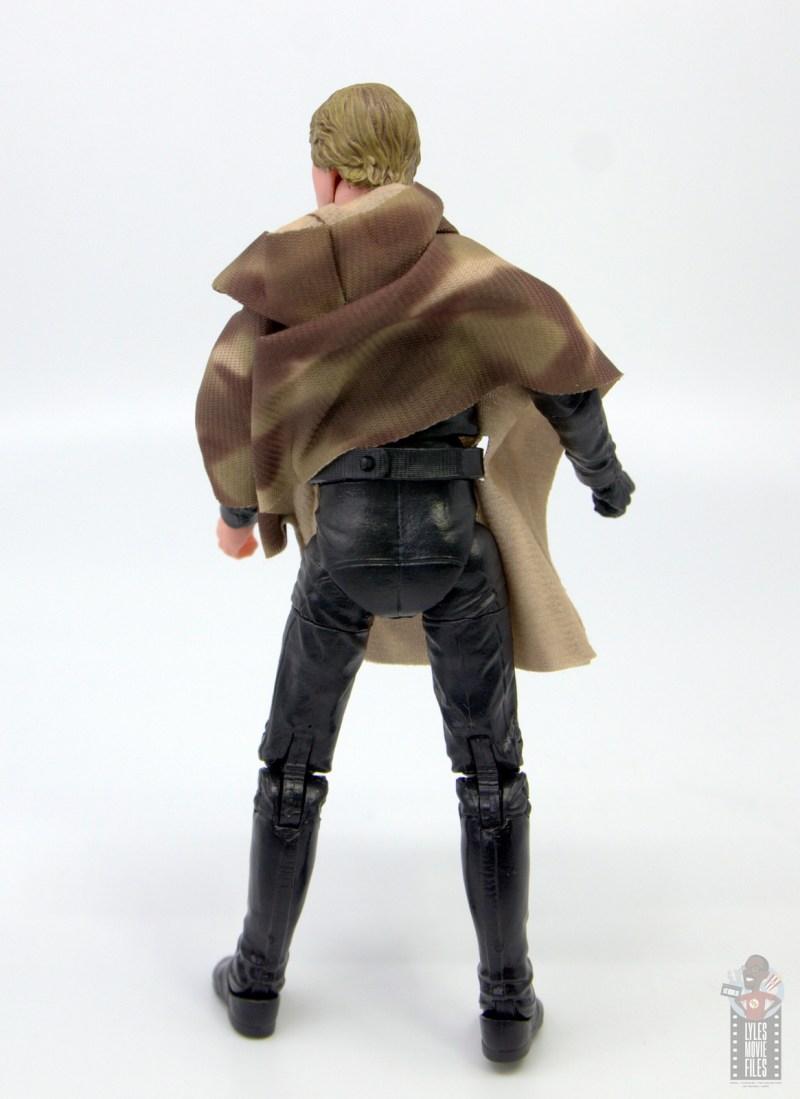 star wars the black series luke skywalker endor figure review - rear with belt loop