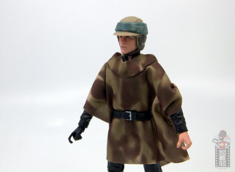 star wars the black series luke skywalker endor figure review - side close up