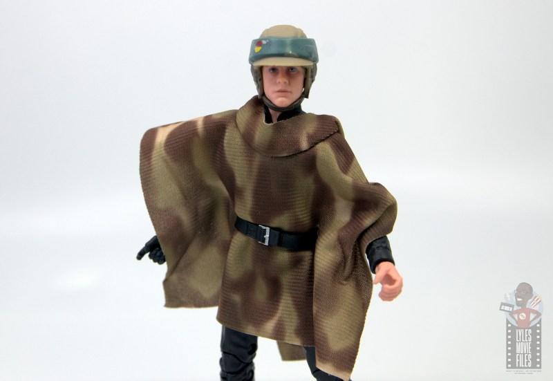 star wars the black series luke skywalker endor figure review -wide shot