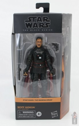 star wars the black series moff gideon figure review - package front