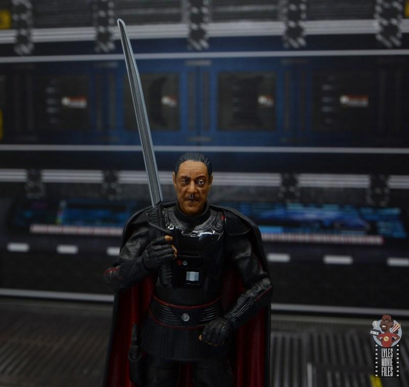 star wars the black series moff gideon figure review - raising darksaber