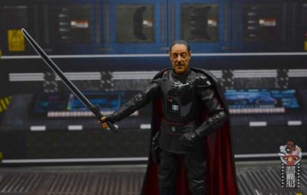 star wars the black series moff gideon figure review - the darksaber