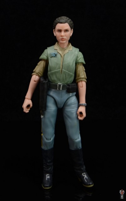 star wars the black series princess leia endor figure review - front