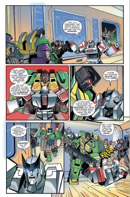 transformers escape #1 interior art