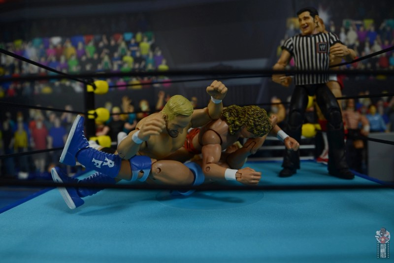 wwe elite series 81 stunning steve austin figure review - double splash onto ric flair