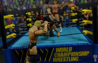 wwe elite series 81 stunning steve austin figure review - hitting arn with the clabbard