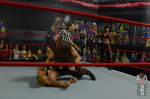 wwe triple h and chyna figure set review - chyna distracting the ref