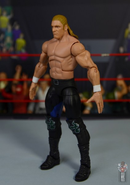 wwe triple h and chyna figure set review - triple h left side