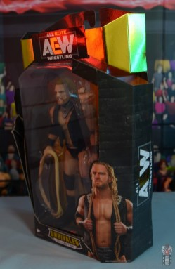 aew unrivaled hangman adam page figure review - package side