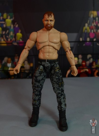 aew unrivaled jon moxley figure review - front