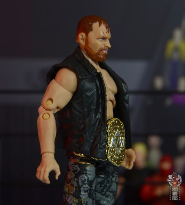 aew unrivaled jon moxley figure review -vest right side