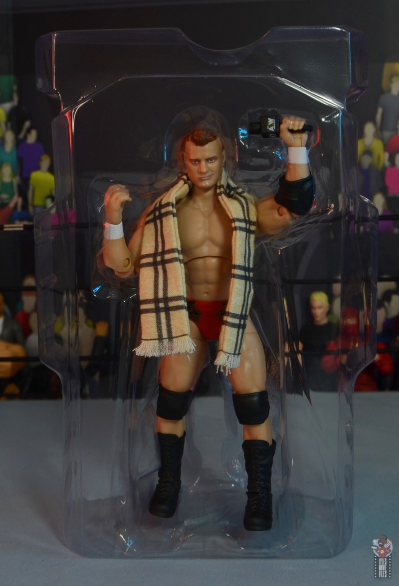 aew unrivaled mjf figure review -accessories in tray