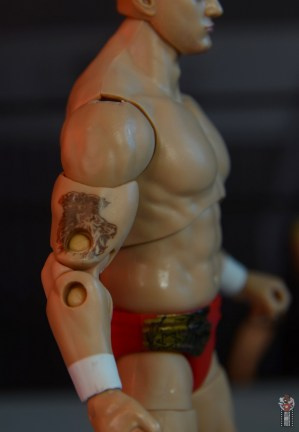 aew unrivaled mjf figure review -bicep tattoo detail