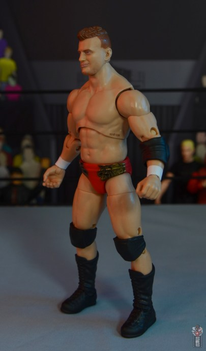aew unrivaled mjf figure review -left side