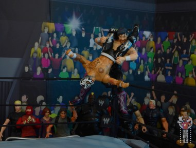 aew unrivaled rey fenix figure review - super huricarana to kenny omega