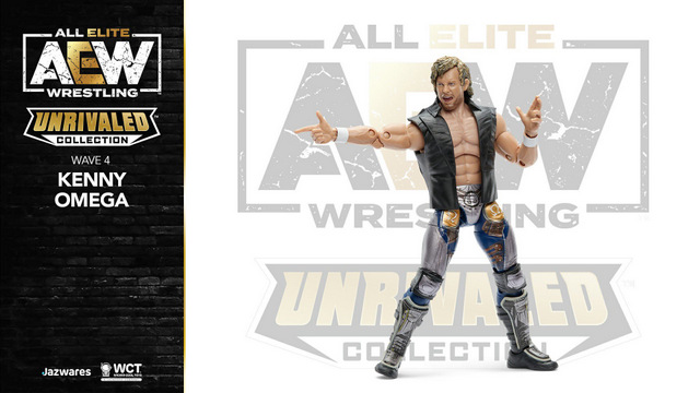 aew unrivaled wave 4 -kenny omega - aiming