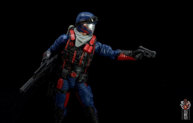 gi joe classified series cobra viper figure review - aiming small blaster