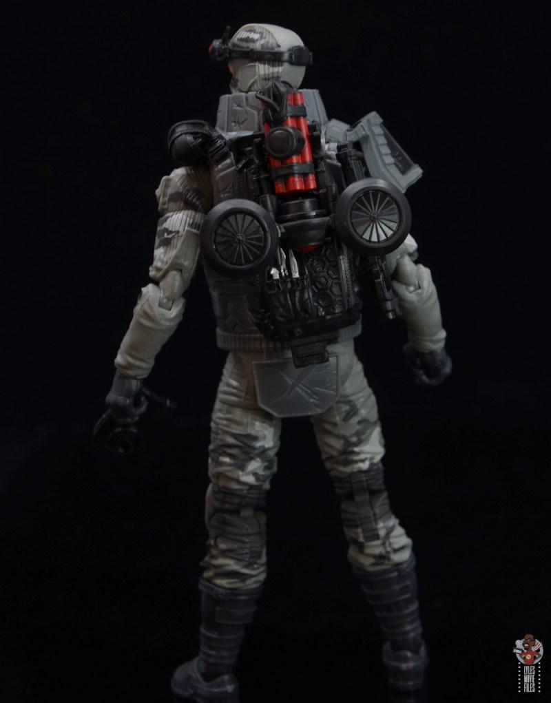 gi joe classified series firefly figure review - backpack option 2