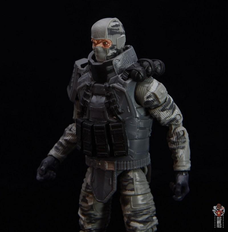 gi joe classified series firefly figure review - flak jacket details left side