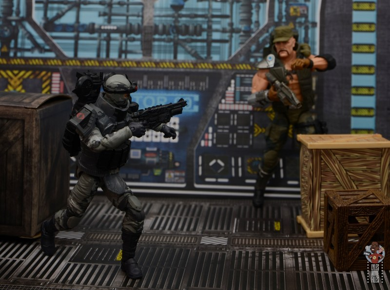 gi joe classified series firefly figure review - fleeing from gung-ho