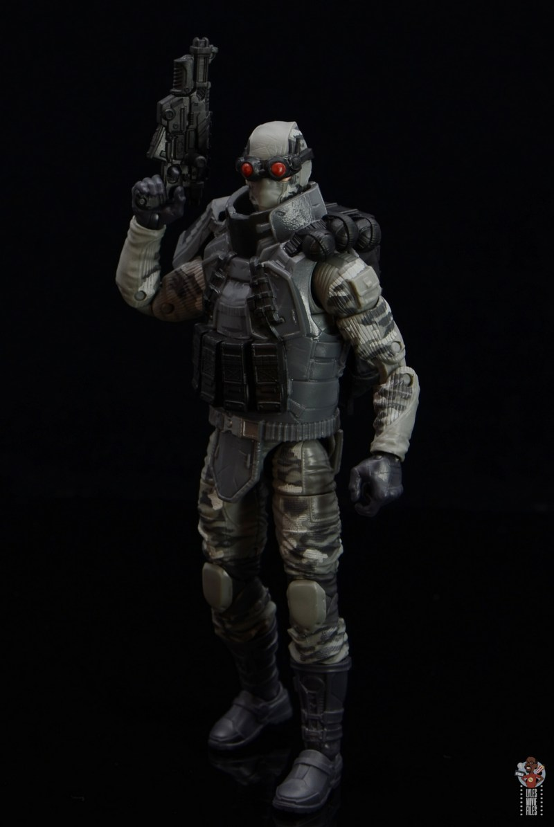 gi joe classified series firefly figure review - goggles down