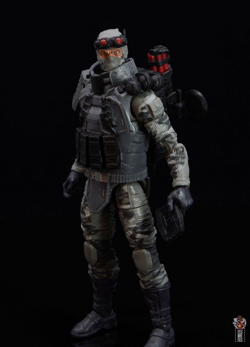 gi joe classified series firefly figure review - holding tablet