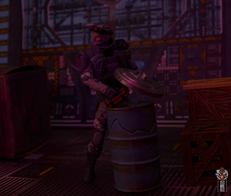 gi joe classified series firefly figure review - leaving dynamite for the joes