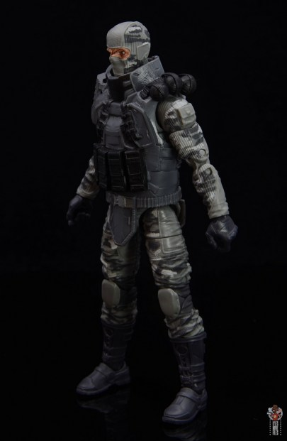 gi joe classified series firefly figure review - left side