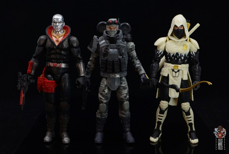 gi joe classified series firefly figure review - scale with destro and storm shadow
