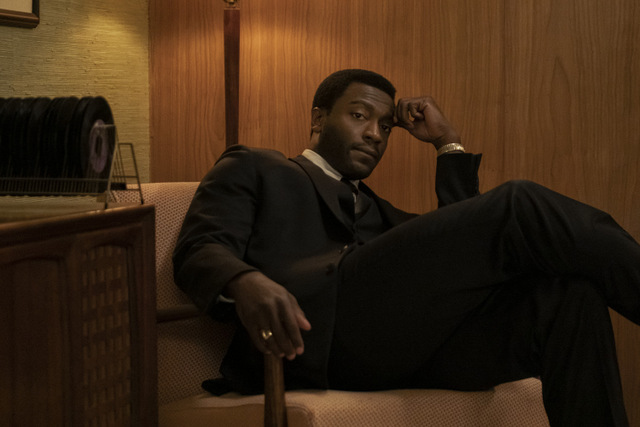 one night in miami review - aldis hodge as jim brown