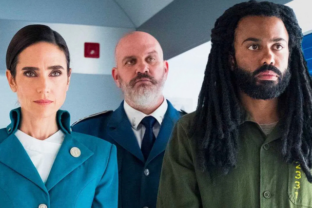 snowpiercer-tv-series - jennifer connelly, mike o'malley and daveed diggs