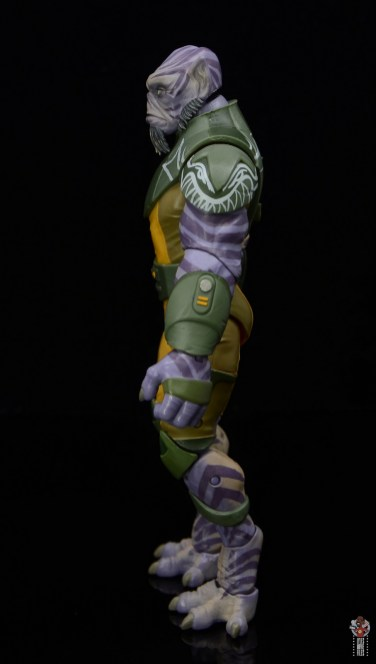 star wars the black series zeb orrelios figure review - left side