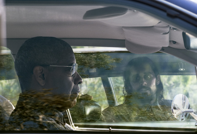 the little things review - jared leto and denzel washington