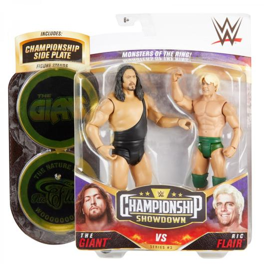 wwe championship showdown the giant vs ric flair -package front
